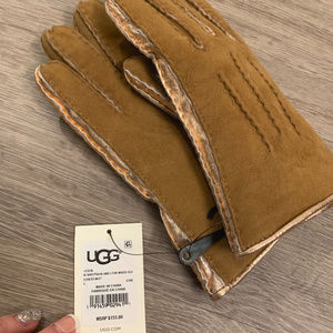 Ugg Original Chestnut Leater with Mettalic Stripe
